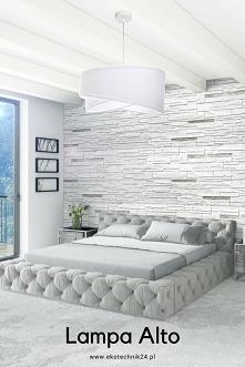 Lampa Alto - może być ozdobą Twojej sypialni.