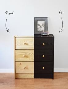 Malowanie najtanszej komody z IKEA