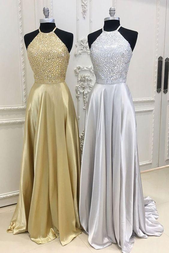 Złota czy srebrna? Więcej długich sukienek TU  ➡️  najlepszesukienki.pl