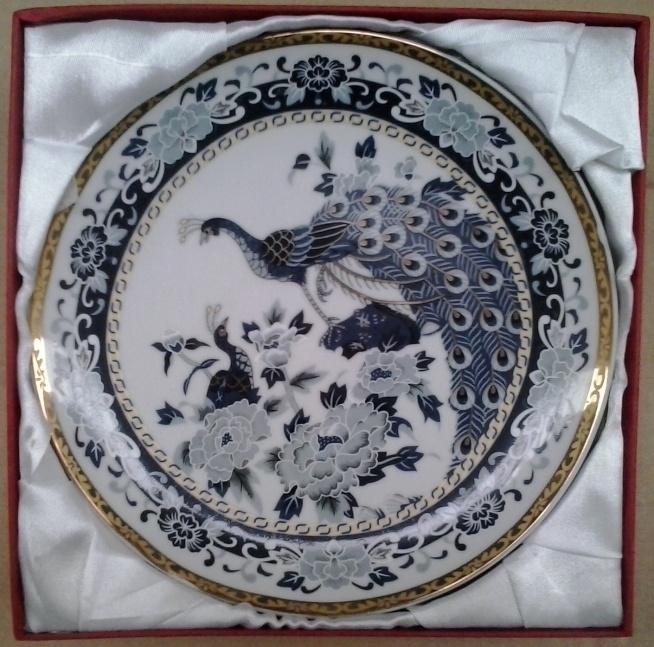Paw niebieski - najbardziej znany wzór japońskiej porcelany