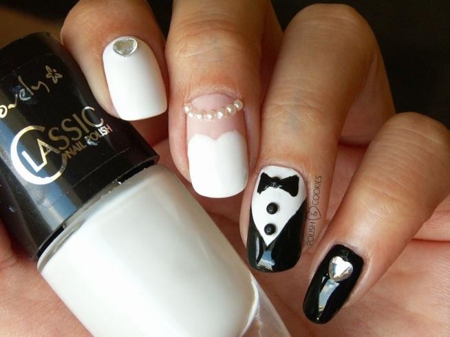 Fajny i nietypowy pomysł na paznokcie :D