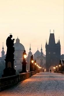 Most Karola w Pradze, Czechy.