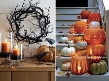 Dekoracje na Halloween ! pomysły po kliknięciu w zdjęcie lub na poliszdesign ...