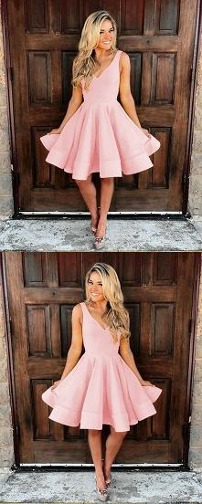 Różowa sukienka na studniów...