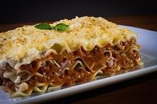 Lasagne - Danie dosyć pracochłonne, ale warte czasu jaki mu poświęcimy.
