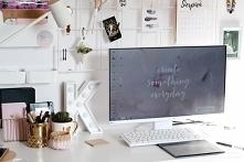 Nowa odsłona mojego domowego biura+ kratka organizer nad biurko za grosze. Wi...