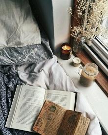 Uwielbiam jesień ♡ książka +kawa ☕ = ❤