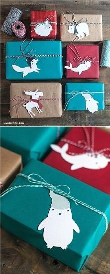 kolorowe prezenty