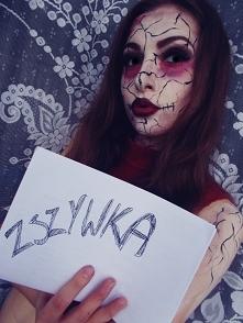 Interesuje się makijażem, z racji, że lubię się malować to sprawdziłam swoich sił w makijażu na halloween. Jak wyszło? Sami oceńcie... <3