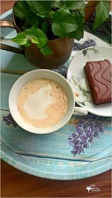 Kokosowa kawa a la rafaello...