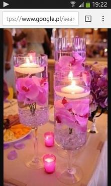 Śliczna dekoracja stołu