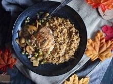 Risotto grzybowe z kurczakiem / Mushroom risotto with chicken