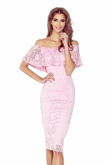 Koronkowa sukienka hiszpank...