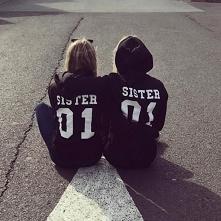 Bluzy dla sióstr - SISTER 01 - swagshoponline.pl ♥