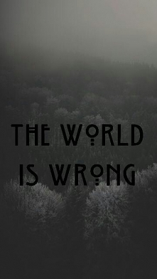 World is wrong