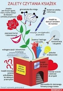 Zalety czytania książek. :-)