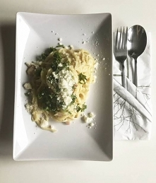 Spaghetti Carbonara wersja bez wina - szybki i łatwy przepis po kliknięciu w ...