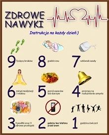 9 zdrowych nawyków na dobry...