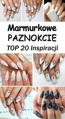 Marmurkowy Manicure w 20 Odsłonach [GALERIA]