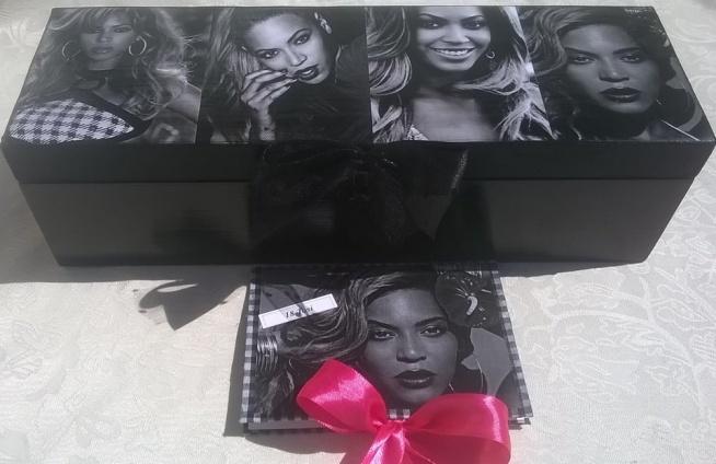 Skrzynka na osiemnastkę z Beyoncé Knowles.