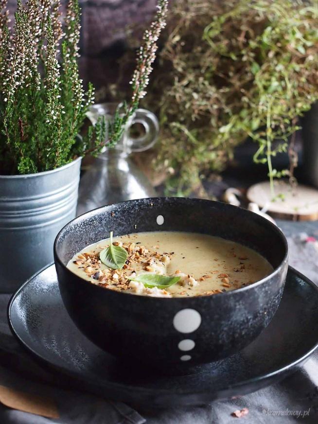 Łatwa zupa brokułowa z zieloną pastą curry / Easy broccoli and green curry soup