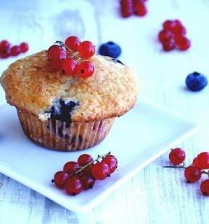 muffinki trójowocowe
