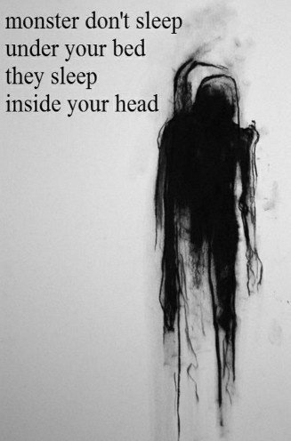 #monsters #are #here #potwory #cytaty #think #head