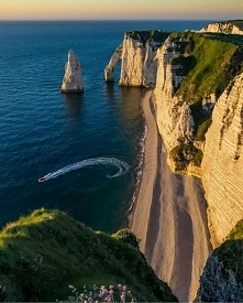Etretat, Francja