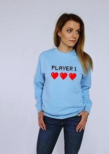Bluza PLAYER 1 z nadrukiem ...