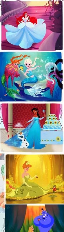 A gdyby pozamieniać postacie z Disneya...