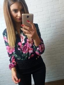 Czy Wy tez kochacie takie bluzki w kwiatki ? ❤