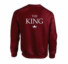 Bluza THE KING - męska bluz...