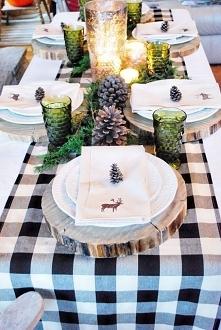 pomysł przygotowania stołu ...