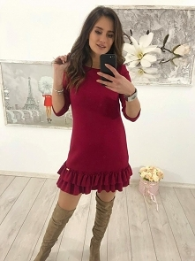 Sukienka sweterkowa idealna...