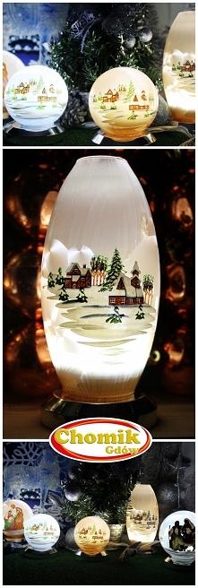 Lampiony z motywem świątecz...