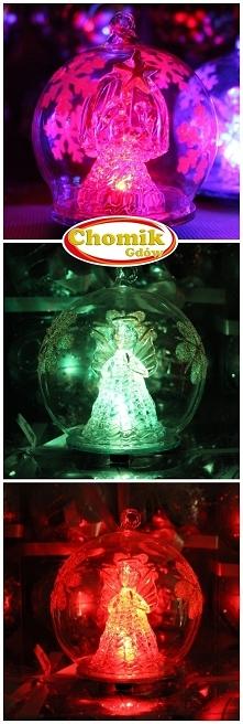 Szklana kula z aniołkiem, k...