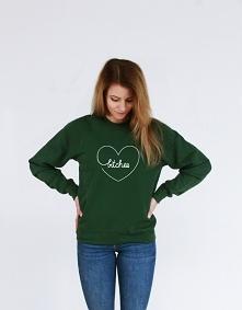 Bluza BEST BITCHES serce - bluza dla przyjaciółki z śmiesznym nadrukiem serca i napisem best BITCHES. Modna bluza młodzieżowa dla best friends - bluza dla najlepszej przyjaciółk...