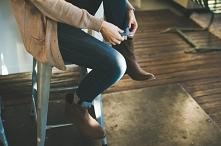 Spodnie od 59,90 zł Z wysokim stanem, jeansy, czarne, przylegające- sprawdź to! Olika.com.pl ♥ ♥