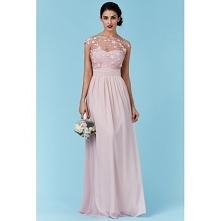 Luksusowa długa różowa suki...