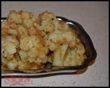 Kalafior w bułce tartej - wspaniały dodatek do obiadu;)