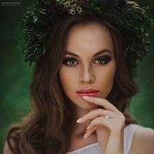 Makijaż ślubny dla szatynki...