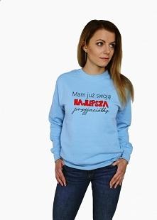 Bluza damska z nadrukiem MA...