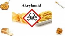 Szkodliwa substancja która jest we frytkach, chlebie, czipsach.