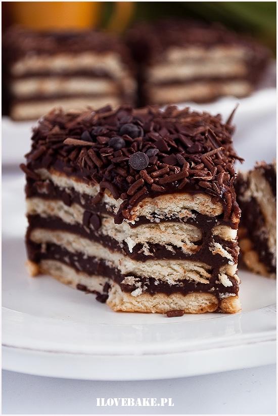 Ciasto czekoladowe bez piec...mmm...pychota