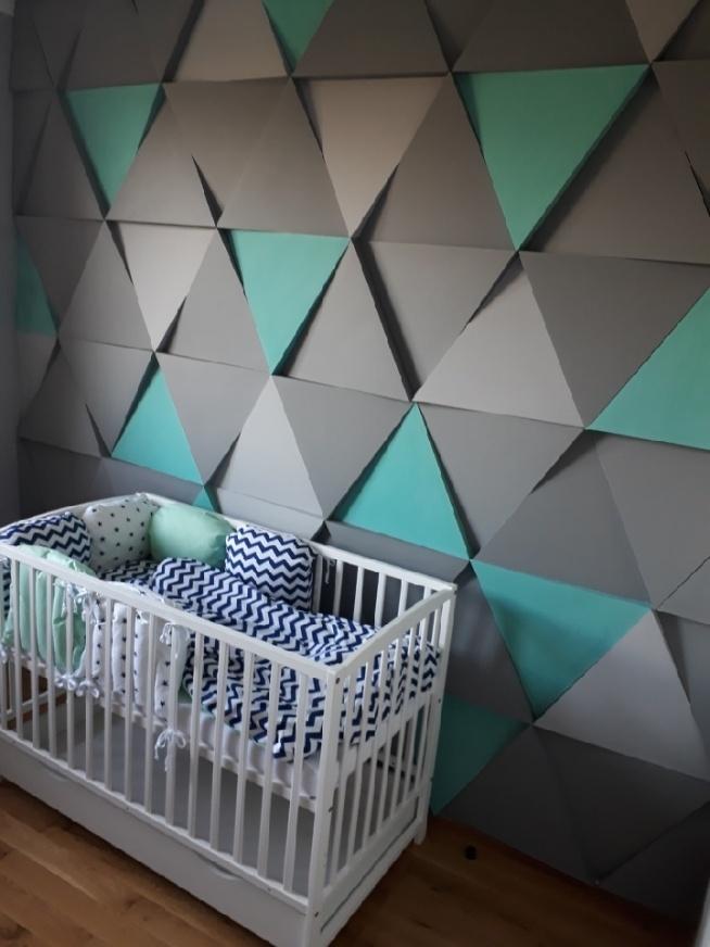 Moja ściana W Sypialni Panele ścienne 3d La Gessa Na