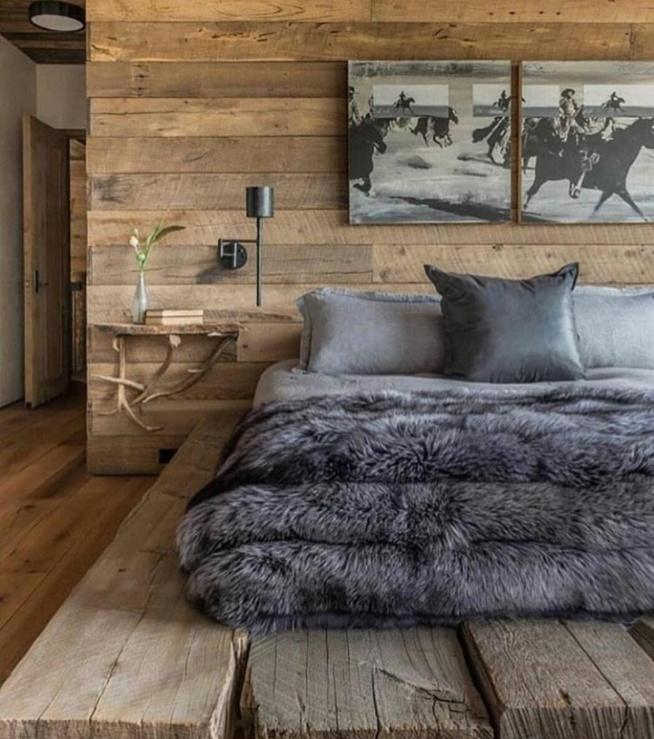 Sypialnia W Drewnie Na Homesweethome Zszywkapl