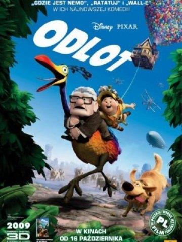 Odlot / Up (2009)  70-letni Carl po śmierci żony zamienia swój dom w statek powietrzny i odlatuje do Ameryki Południowej, by spełnić swoje marzenie. Przez przypadek zabiera ze sobą ośmioletniego skauta. Zapraszamy na allbox.tv