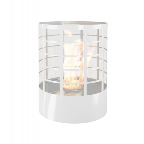 Niewielkich rozmiarów biokominek mobilny do minimalistycznych wnętrz. Biokominek Petit Planika to prawdziwy ogień w każdym wnętrzu.