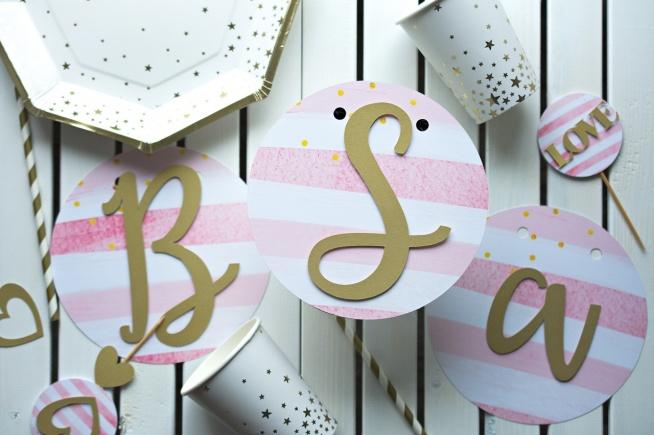 Blog Party Shop Girlanda Urodzinowa Z Imieniem Wyjątkow Na