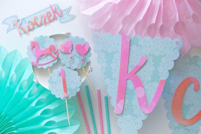 Blog Party Shop Dekoracje Na Roczek Girlanda Urodzinowa Na